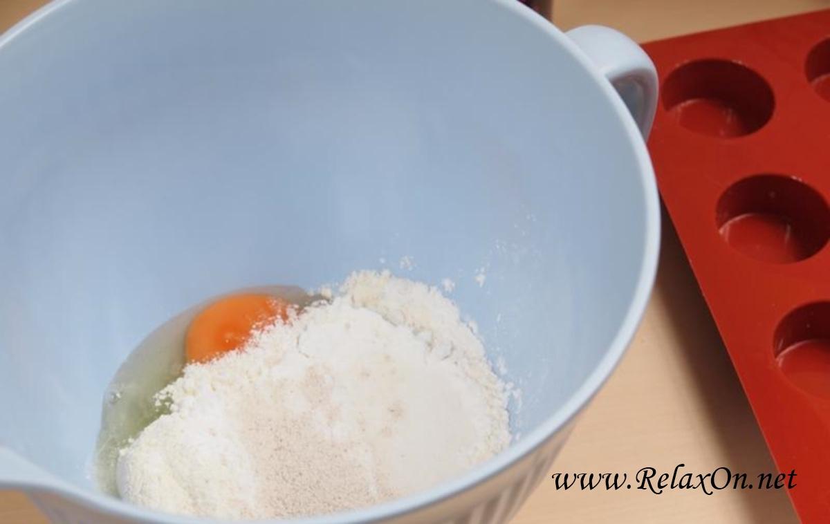 1-Бисквитный кекс рецепт с пошаговыми фото