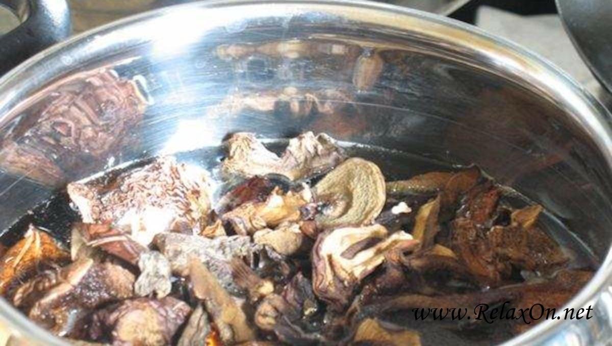 1-Как приготовить суп из сушеных грибов
