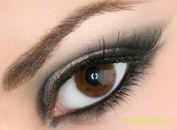 10-Макияж для карих глаз