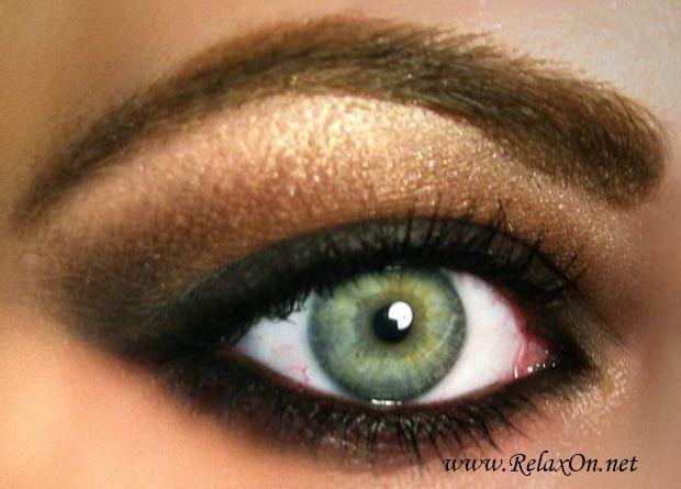 10-Макяж для зеленых глаз