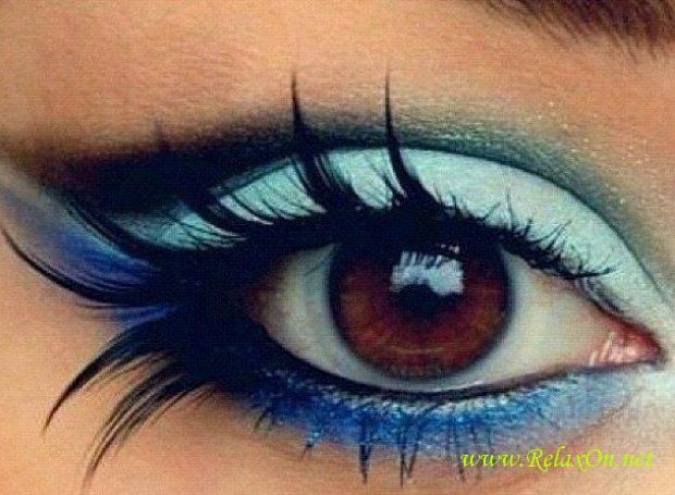 13-Макияж для карих глаз