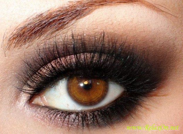 14-Макияж для карих глаз