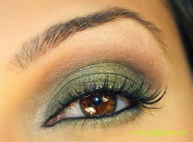 15-Макияж для карих глаз