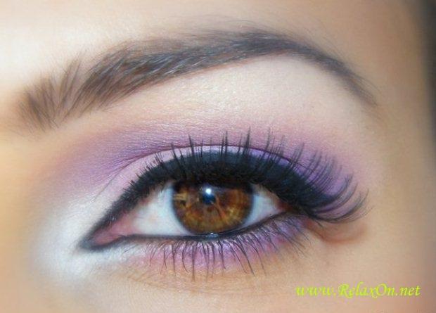 16-Макияж для карих глаз