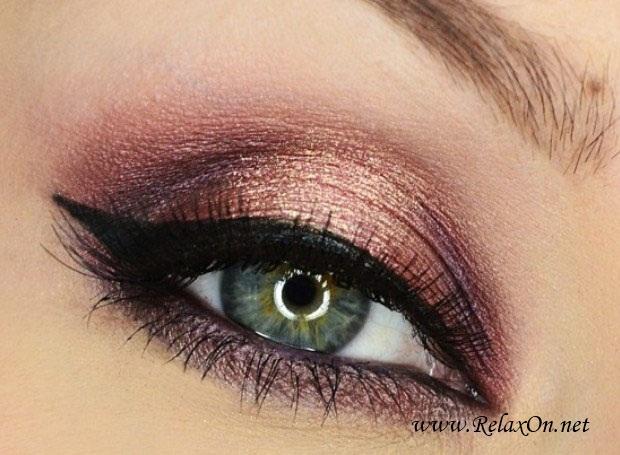 18-Макяж для зеленых глаз