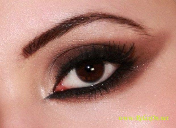 19-Макияж для карих глаз
