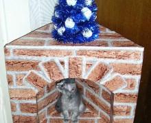 Камин для деда Мороза