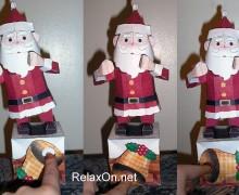 Танцующий Санта Клаус своими руками