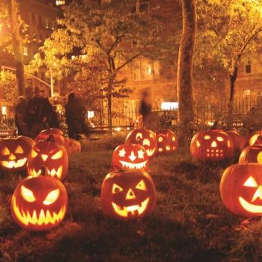 Трафареты на Хэллоуин