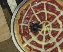 пицца паутина