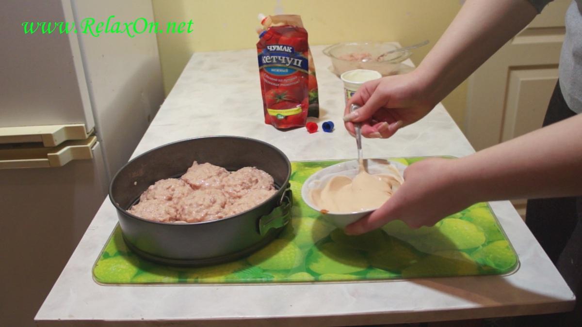 3- Готовим соус для тефтелей