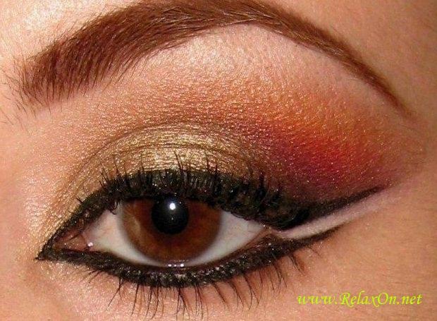 3-Макияж для карих глаз