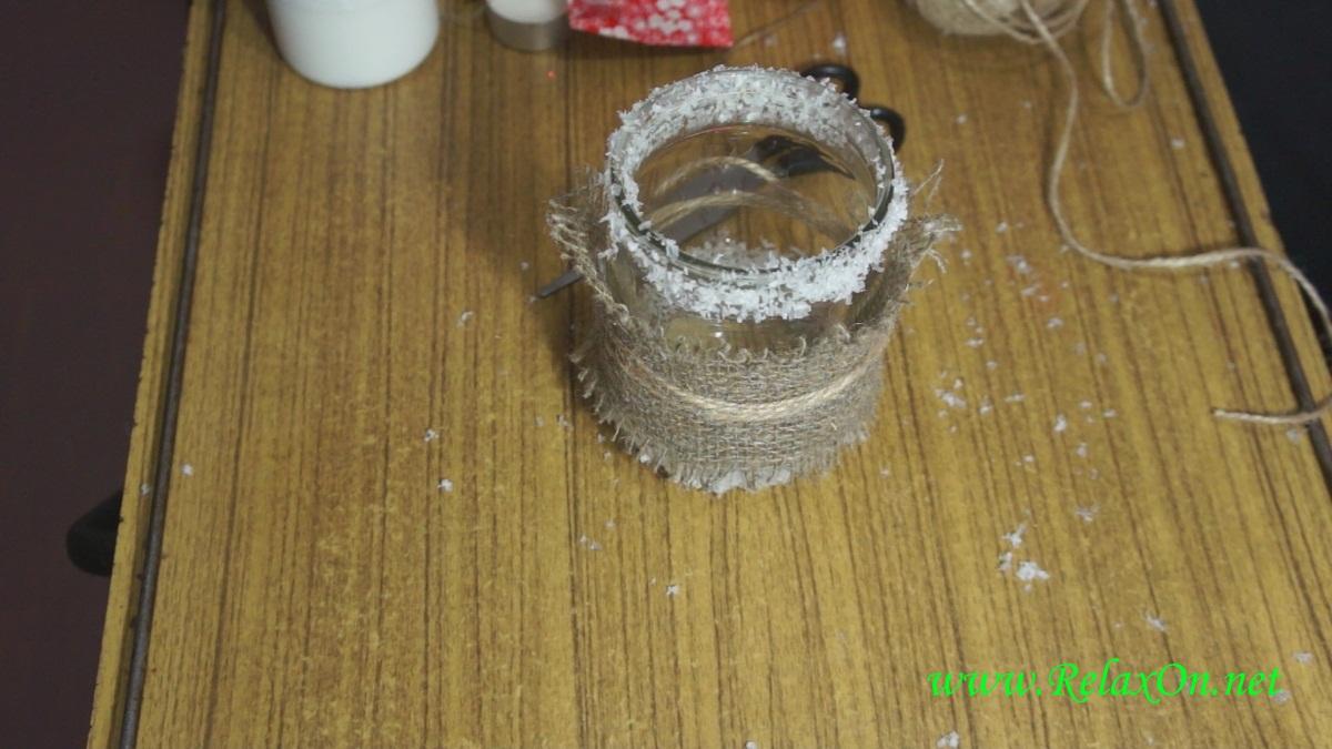 3-Пошаговые фото новогодний подсвечник