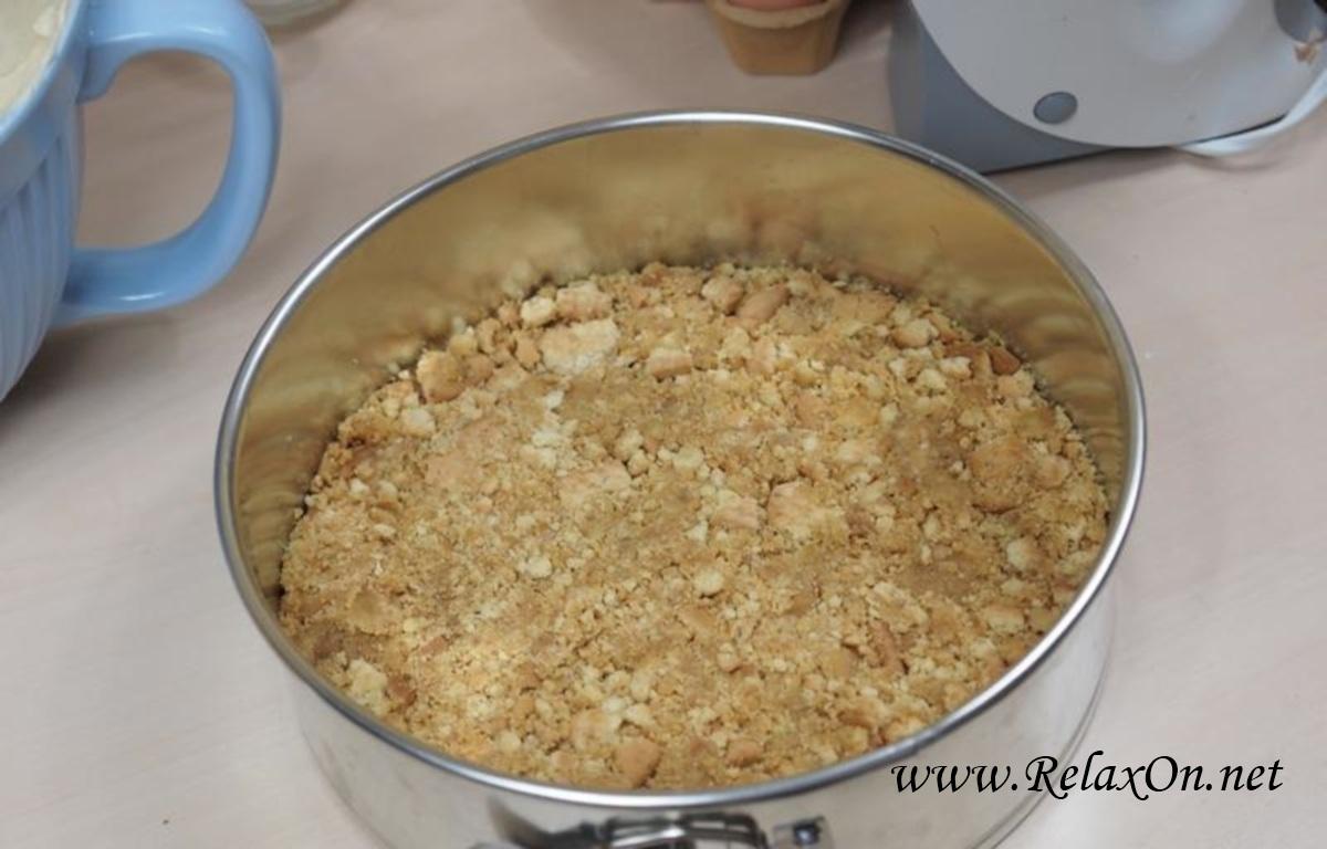 3-Пошаговый рецепт чизкейка