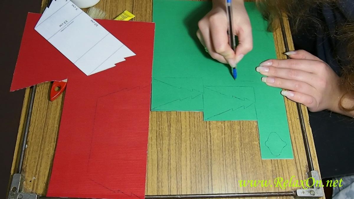 3-шаблон на зеленый картон