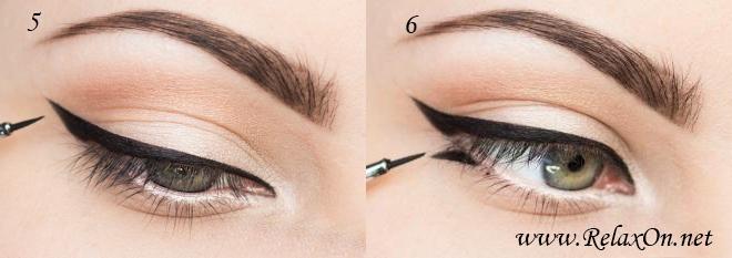 3 шаг макияж на осень