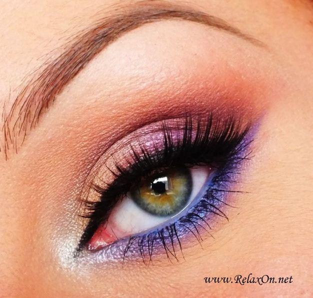 4-Макяж для зеленых глаз