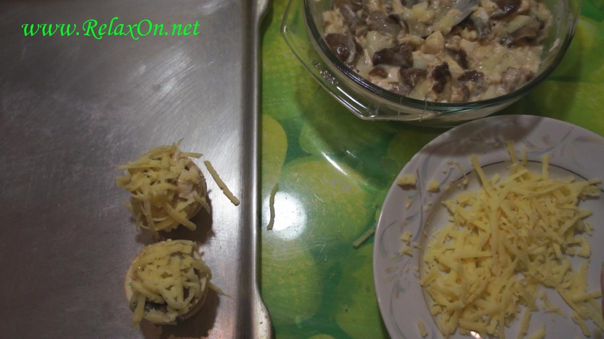 4- Жульен в тарталетках в духовку