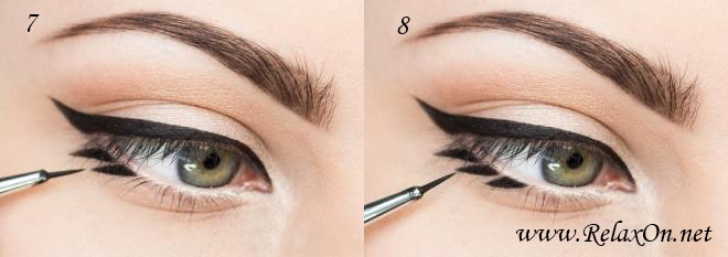 4 шаг макияж на осень