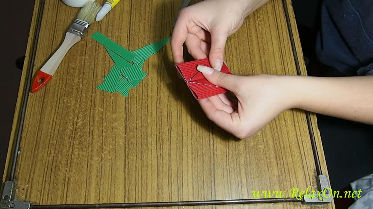 5-Как сделать Новогоднюю открытку