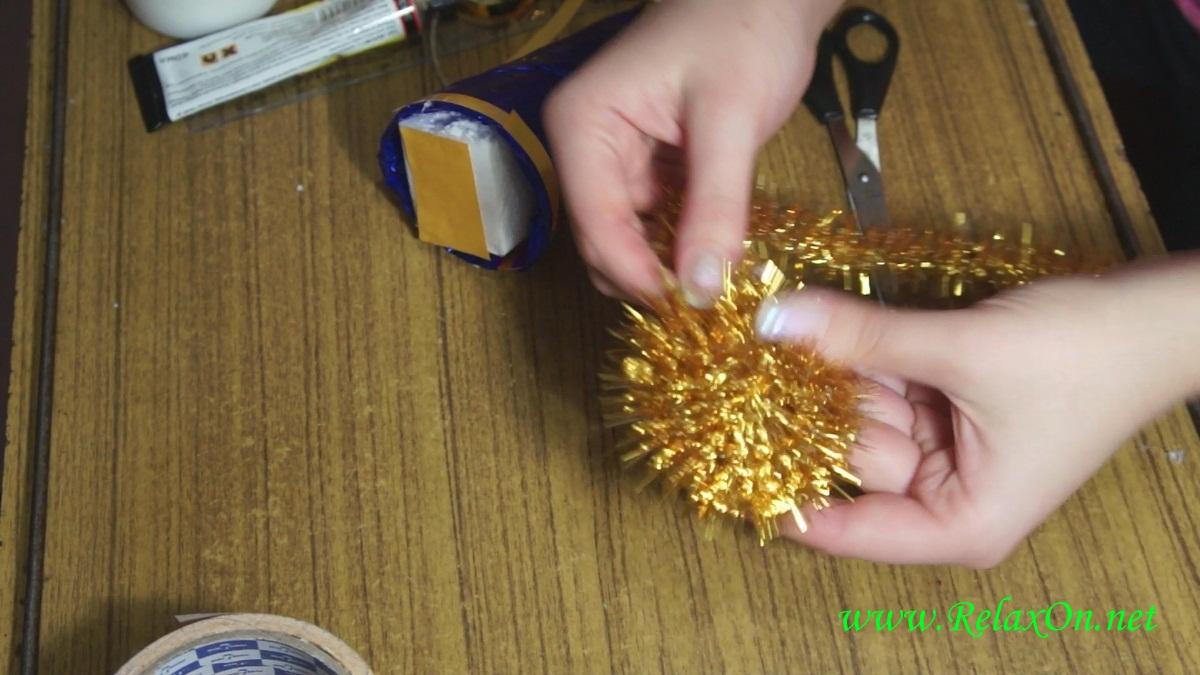 5-Новогодние поделки в детский сад пошагово