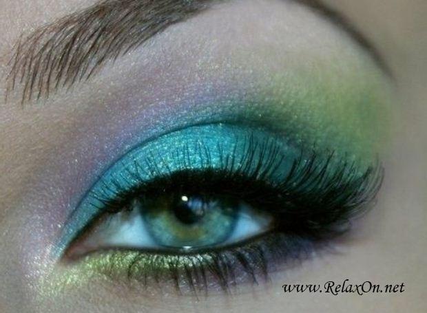 6-Макяж для зеленых глаз