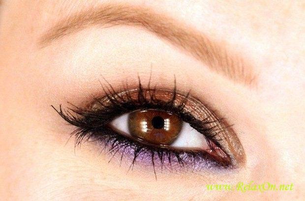 7-Макияж для карих глаз