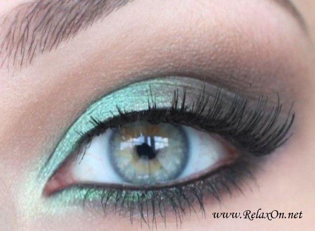 9-Макяж для зеленых глаз