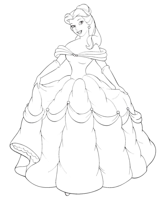 Диснеевские принцессы Белль