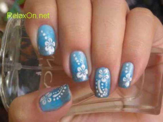 Дизайн натуральных ногтей с фото
