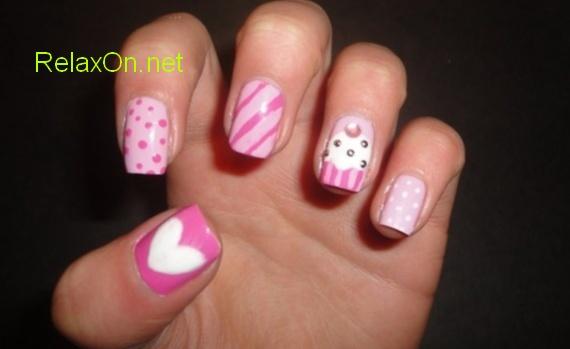 Дизайн натуральных ногтей фото новинки