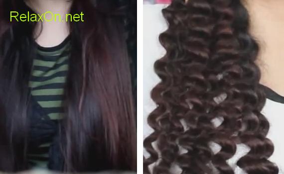 Фото спиральные волосы