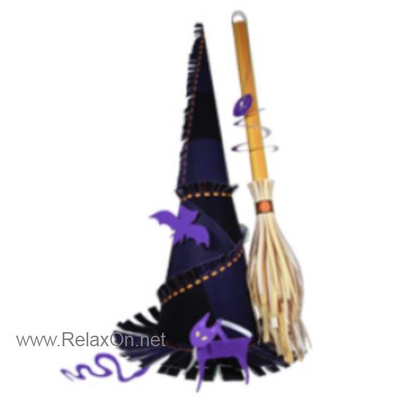 Метла для ведьмы на хэллоуин своими руками - Политрейд