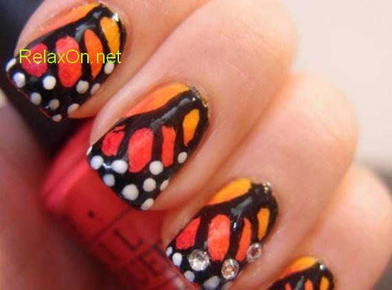Маникюр на натуральных ногтях