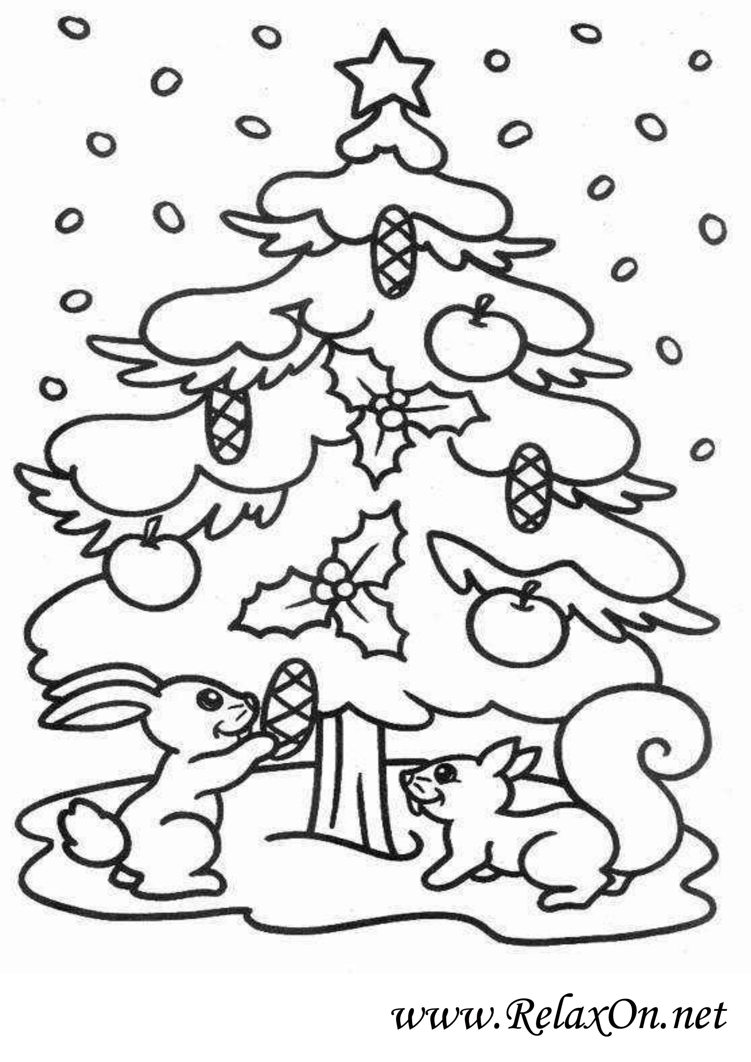Новогодняя елка 5