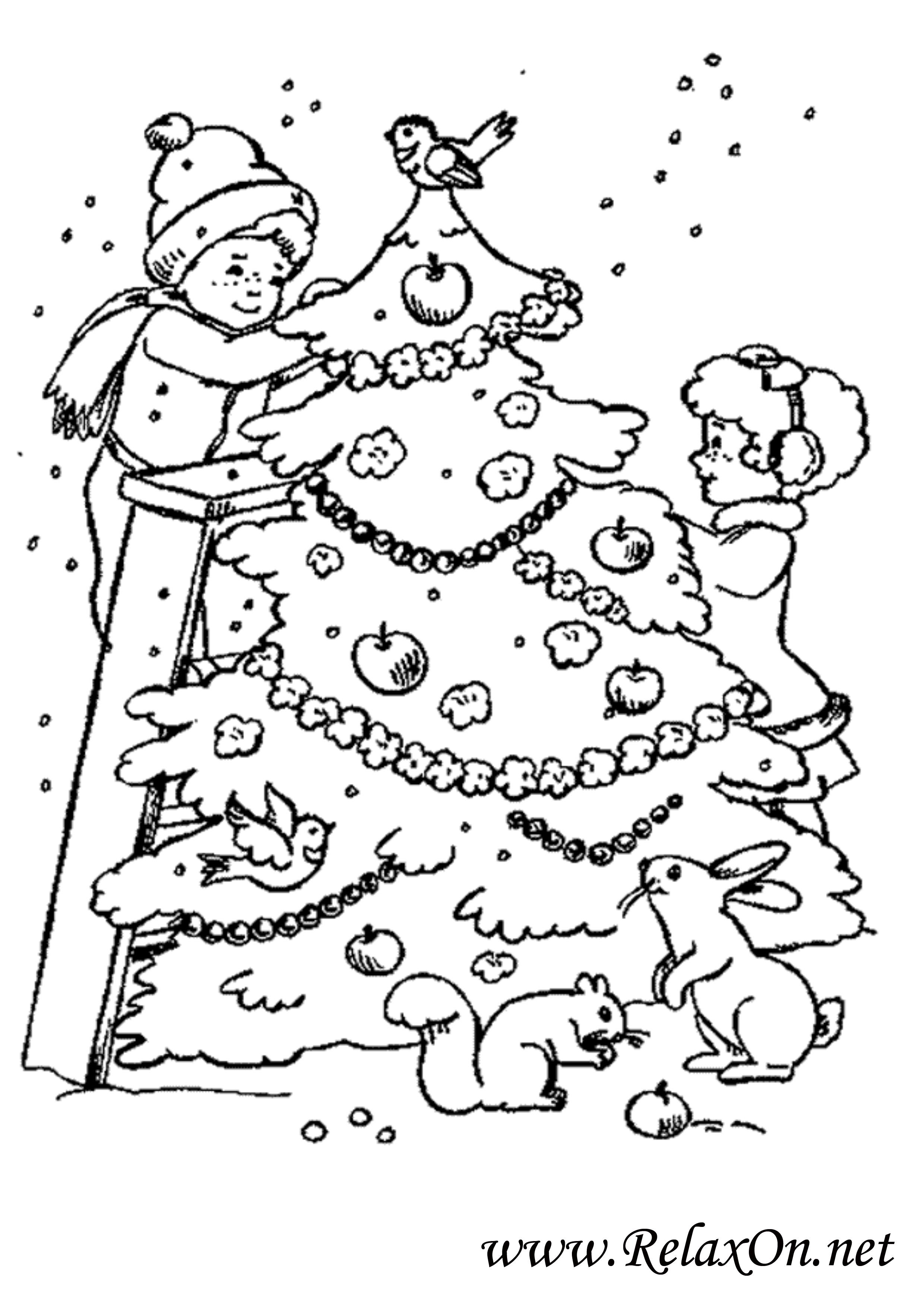 Новогодняя елка 6