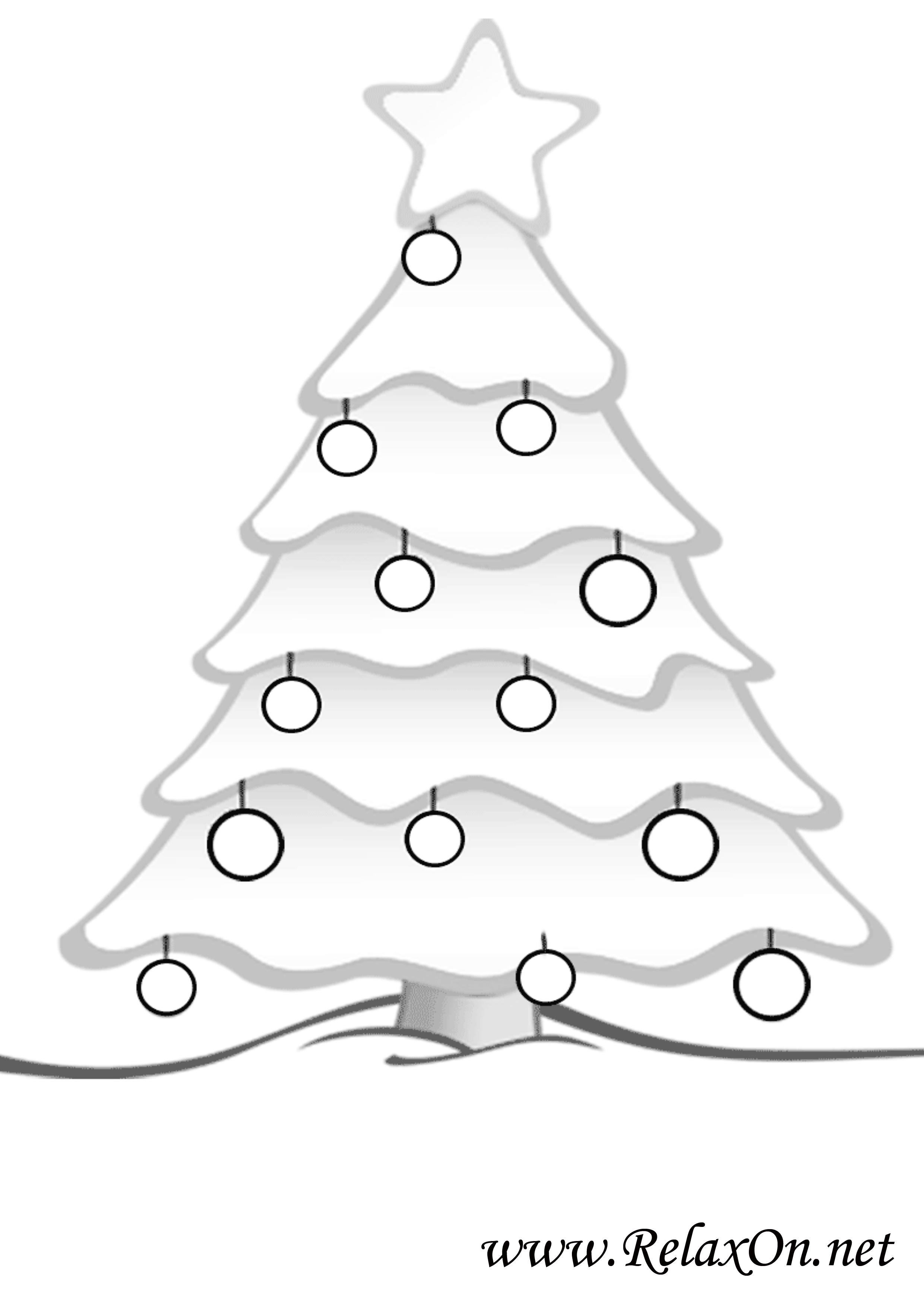 Новогодняя елка 8