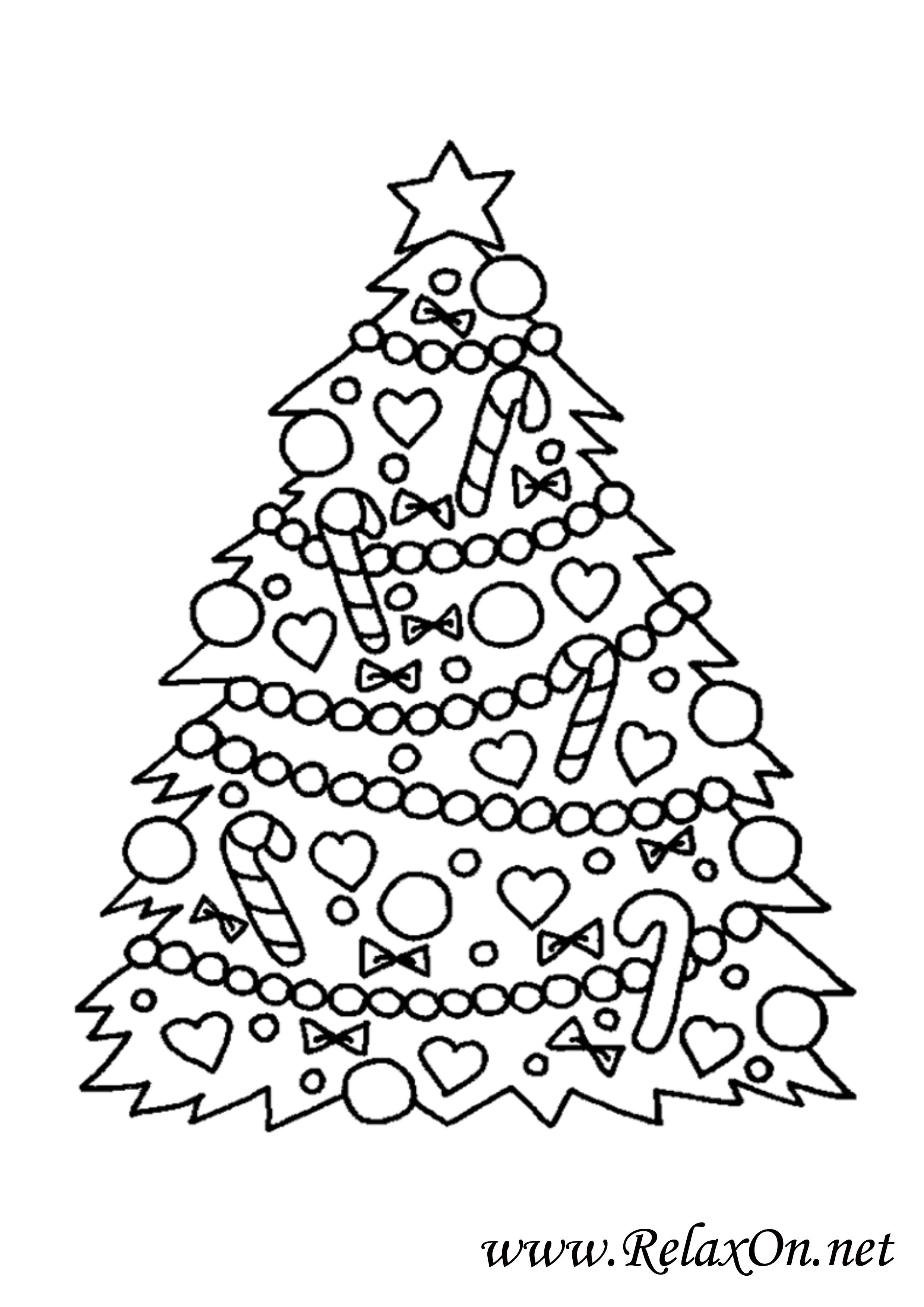 Новогодняя елка 9