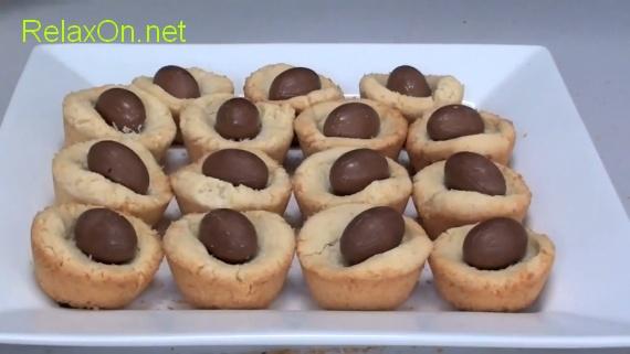 Пасхальные рецепты-Кокосовые гнездышки