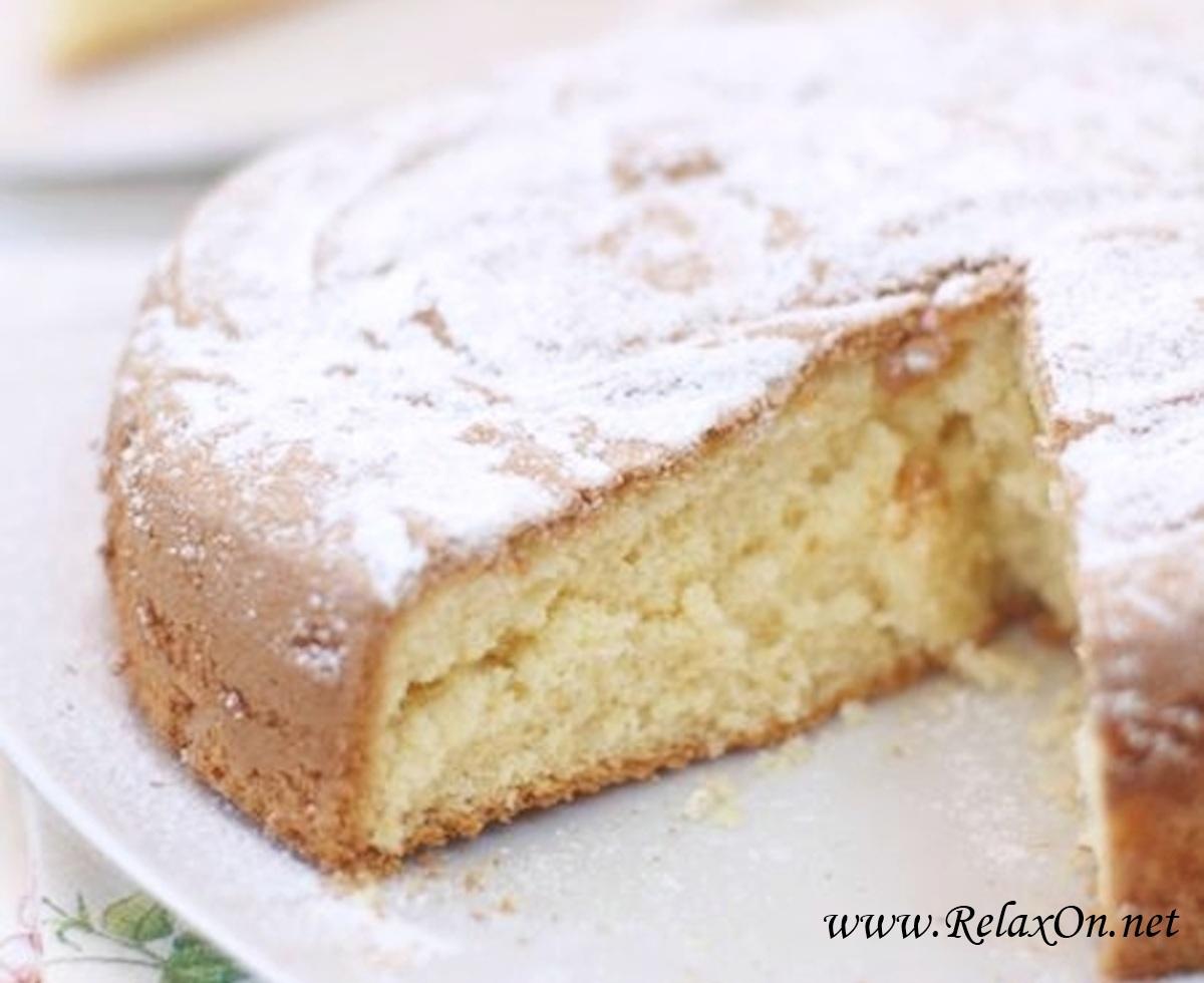 Пошаговый рецепт классического бисквита