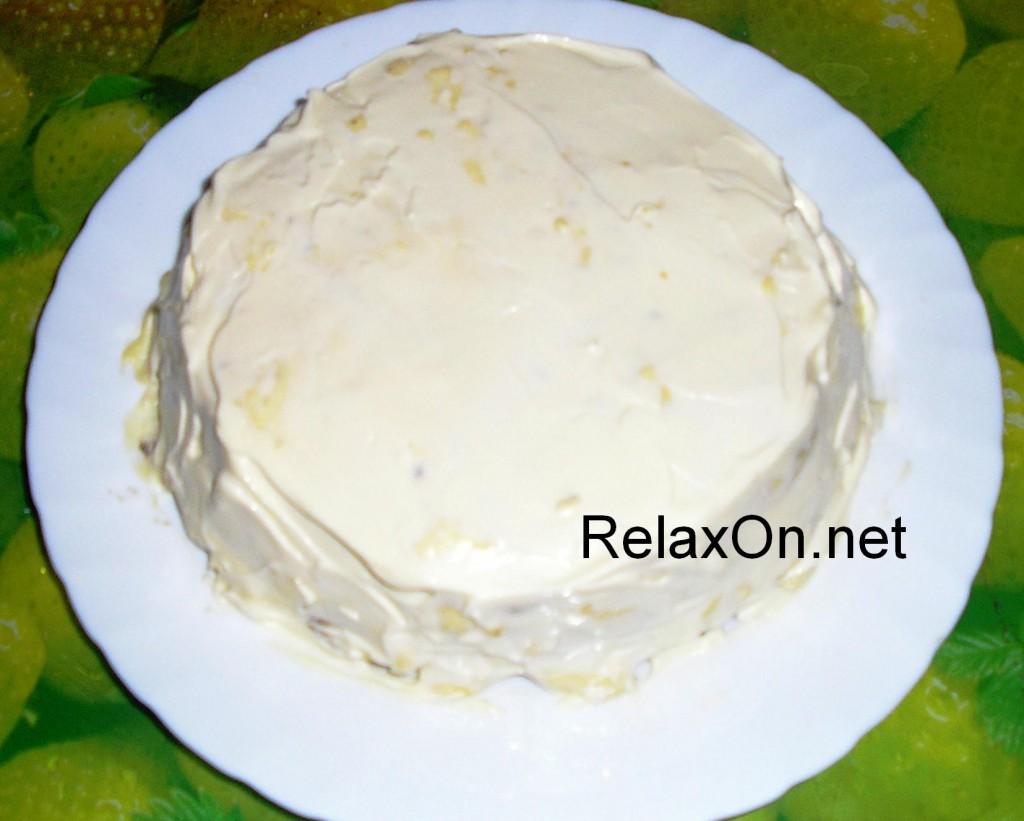 рецепт 3 слойного торта