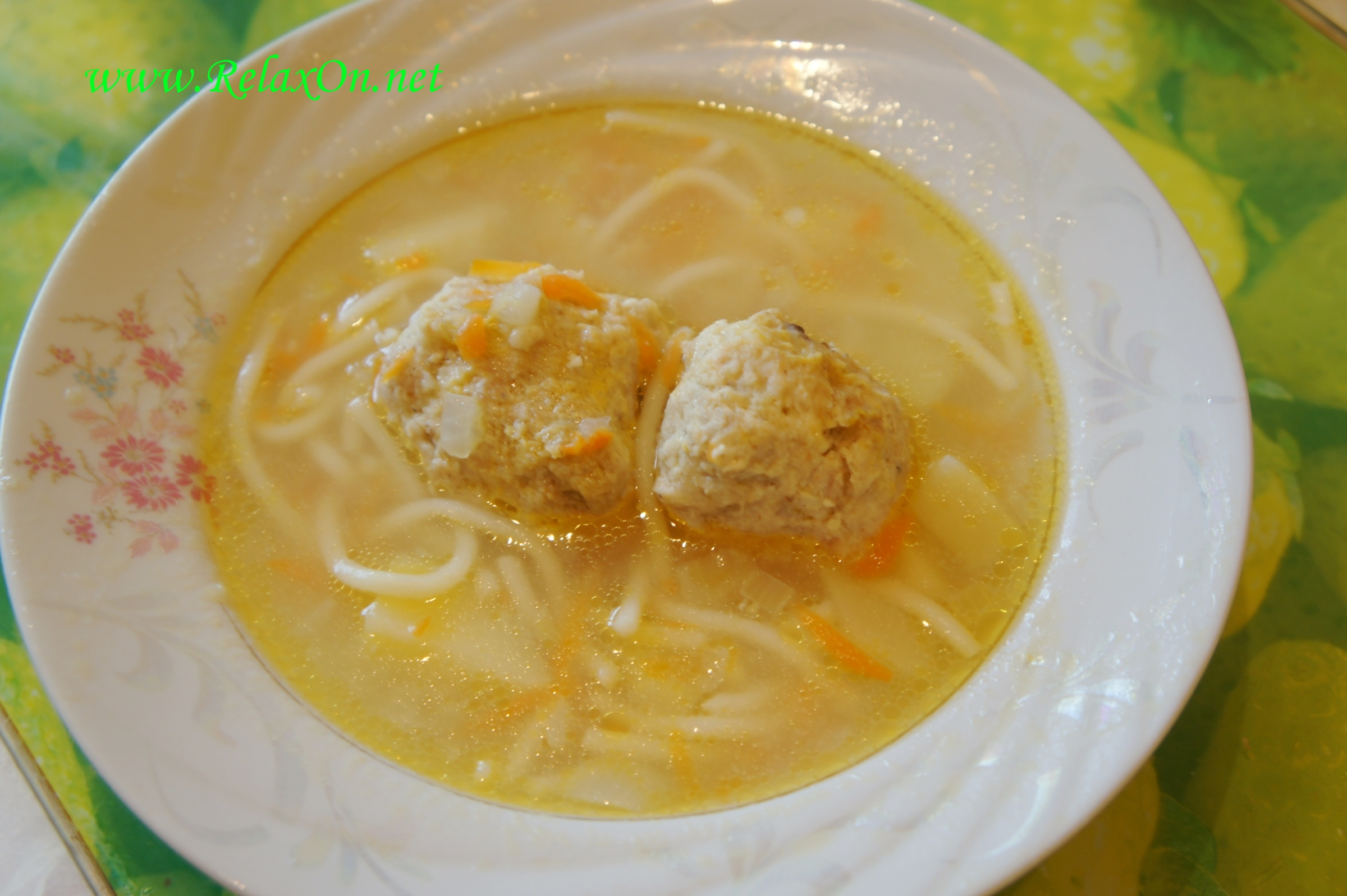 видео рецепт супа с вермишелью